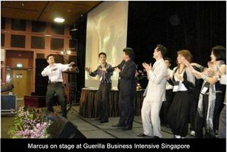 Marcus at GBI Singapore